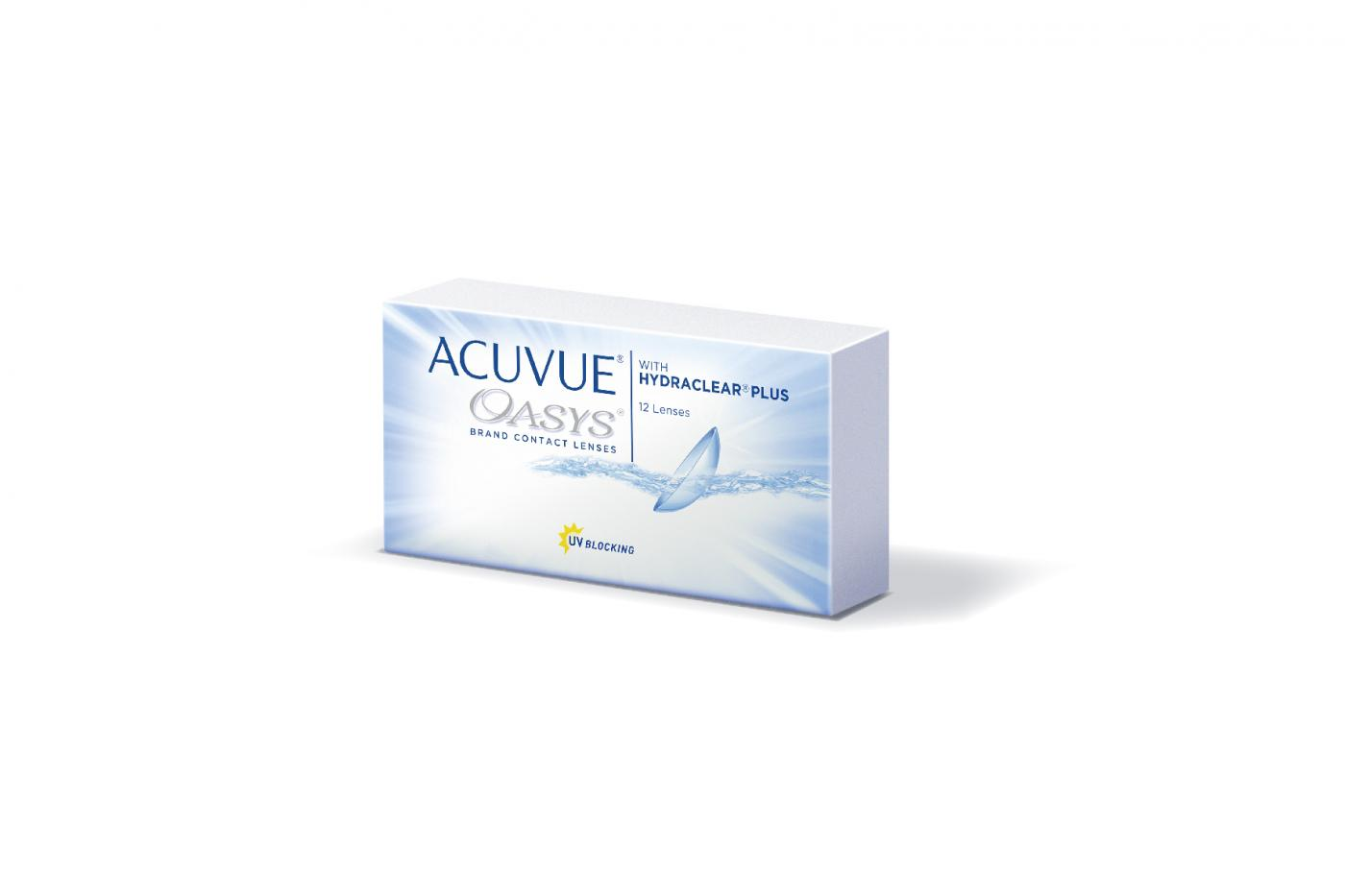 ACUVUE OASYS with HYDRACLEAR PLUS 12 ks