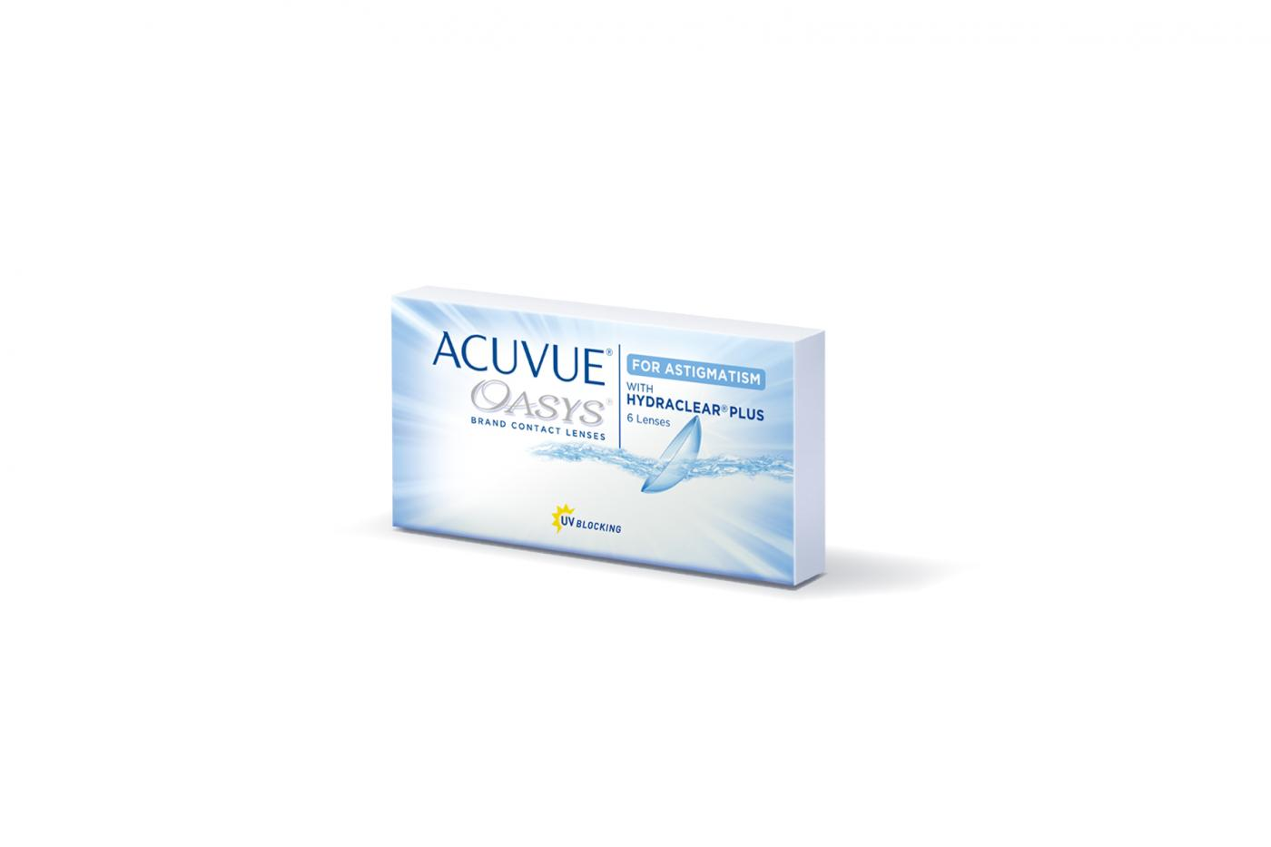 ACUVUE OASYS for ASTIGMATISM  6 ks